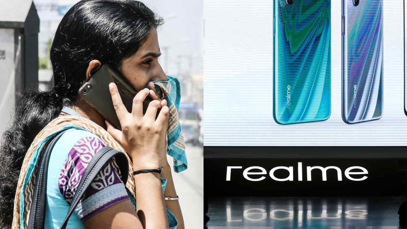 Nhà sản xuất đồ dùng Trung Quốc Realme, công ty lắp ráp điện thoại thông minh và TV ở Ấn Độ, có kế hoạch bắt đầu sản xuất tai nghe ở đó để đáp ứng nhu cầu địa phương. (Nguồn ảnh của Ken Kobayashi và Reuters)