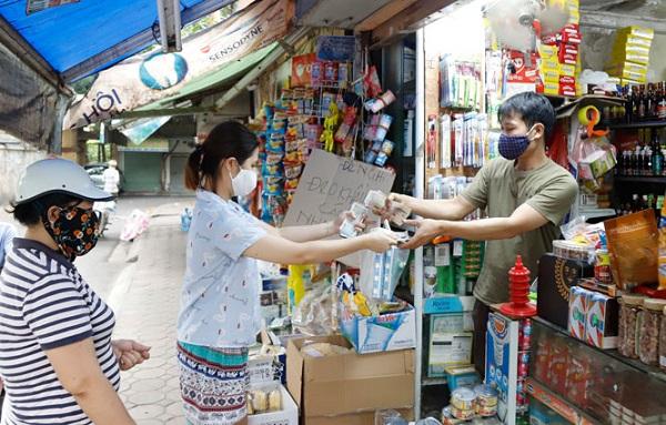 doanh nghiệp cần đẩy mạnh kết nối với hệ thống cửa hàng tạp hóa để tăng khả năng tiêu thụ sản phẩm