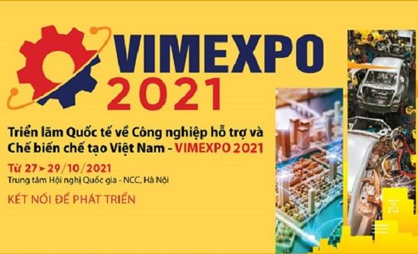 """Triển lãm VIMEXPO 2021: """"Kết nối để phát triển"""""""