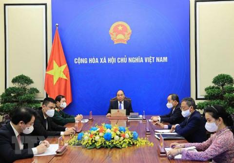 Chủ tịch nước đề nghị Tổng Thư ký LHQ hỗ trợ triển khai vắc xin và tư vấn chính sách phục hồi sau đại dịch
