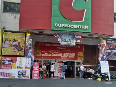 TP Hồ Chí Minh: Big C quận 10 tạm thời đóng vì ca nghi mắc Covid-19