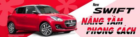 Việt Nam Suzuki giới thiệu mẫu hatchback hạng B – New Swift 2021