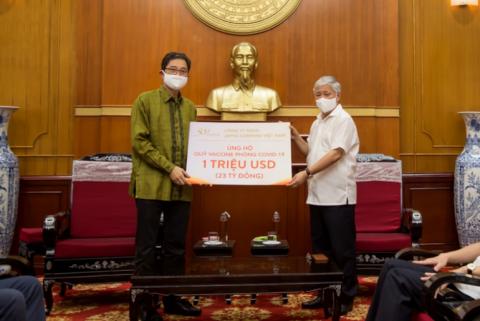 Japfa Việt Nam ủng hộ 1 triệu USD cho Quỹ vaccine phòng chống COVID-19