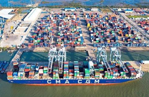 Cảng biển Vũng Tàu: Hàng hóa thông qua vẫn tăng mạnh