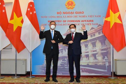 Đối thoại chính sách cao cấp Diễn đàn hợp tác Á-Âu (ASEM): Việt Nam-Singapore thúc đẩy công nhận lẫn nhau về chứng chỉ vắc-xin