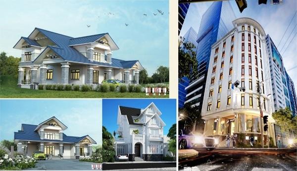 Thiết kế biệt thự biển Ninh Vân (tỉnh Khánh Hòa)
