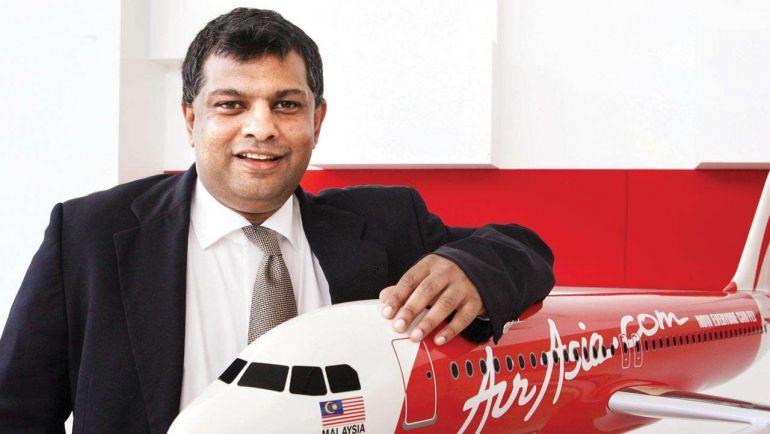 """Tỷ phú Tony Fernandes """"cha đẻ"""" hãng AirAsia"""