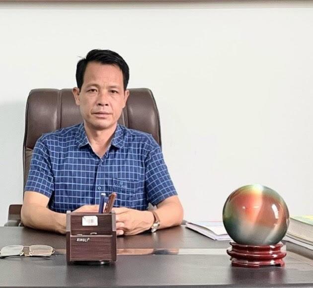 Ông Hán Thành Tuấn - Giám đốc CTCP Đầu tư và Xây dựng Tuấn Linh
