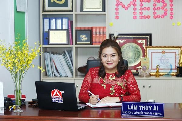 Bà Lâm Thúy Ái – Chủ tịch Mebi Group