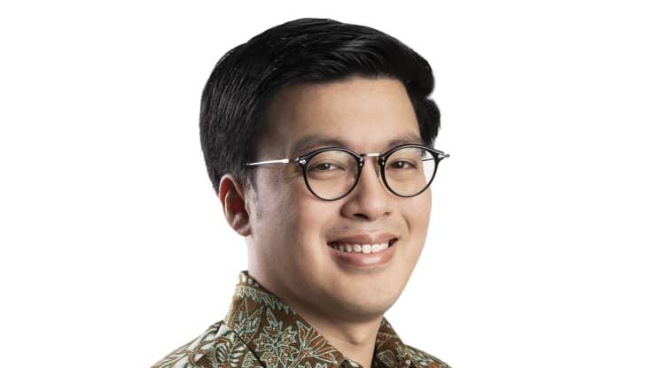 Kevin Aluwi, đồng sáng lập và CEO của nền tảng gọi xe Indonesia Gojek, thuộc Tập đoàn GoTo.Nhóm GoTo