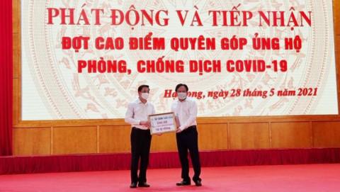 Ông Đào Hồng Tuyển và Tập đoàn Tuần Châu ủng hộ 210 tỷ đồng cho Quỹ vắc xin phòng chống COVID-19