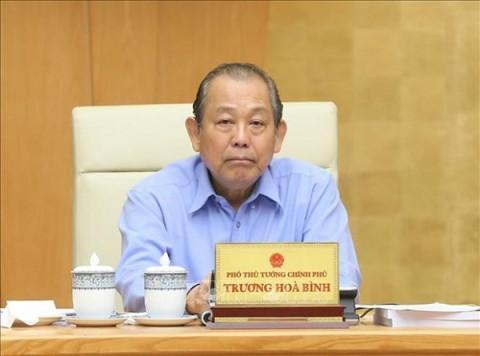 Phó Thủ tướng Thường trực Trương Hòa Bình gửi Thư khen Công an Hà Nội