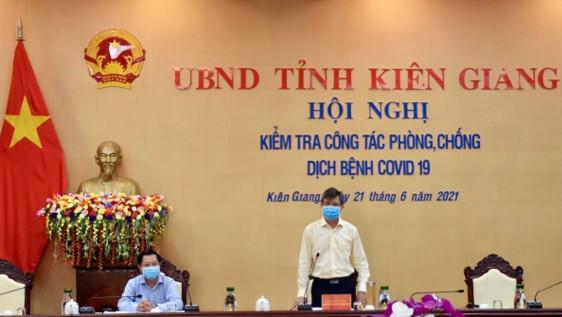 Hội nghị kiểm tra công tác phòng, chống dịch bệnh Covid-19