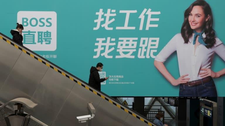 Sự ra mắt mạnh mẽ tại New York của Kanzhun, nhà điều hành nền tảng tuyển dụng trực tuyến Boss Zhipin, đã giúp hồi sinh sự quan tâm đến IPO của các công ty công nghệ Trung Quốc. © Reuters