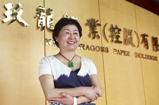 Hình ảnh truyền cảm hứng của Zhang Yin. Nguồn ảnh: Internet
