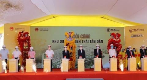 Thanh Hoá: Khởi công xây dựng Khu du lịch sinh thái Tân Dân