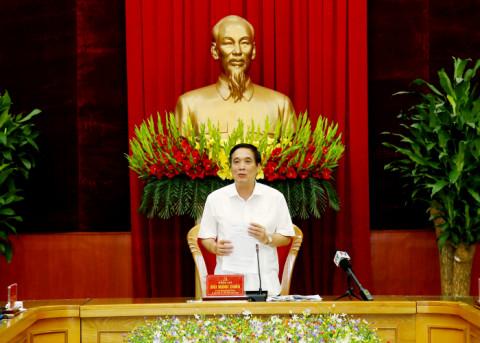 """Phú Thọ: Các giải pháp thực hiện """"mục tiêu kép"""" vừa phòng, chống dịch vừa phát triển kinh tế - xã hội"""