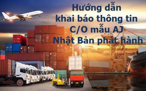 Hướng dẫn doanh nghiệp khai báo thông tin số lượng hàng hóa trên C/O