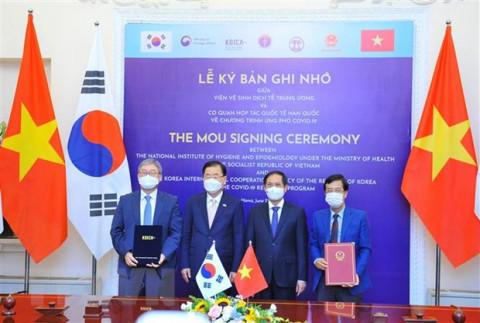 Kết quả tích cực trong buổi hội đàm Việt Nam- Hàn Quốc