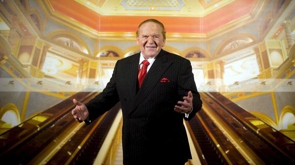 Chân dung ông trùm casino Do Thái Sheldon Andelson. Nguồn ảnh: Internet