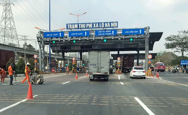 Từ ngày 1/10/2021 trở đi, Công ty CII sẽ tiếp tục thu phí sử dụng dịch vụ đường bộ qua trạm thu phí Xa lộ Hà Nội theo Quyết định số 922/QĐ-UBND ngày 18/3/2021 của UBND TP. Hồ Chí Minh