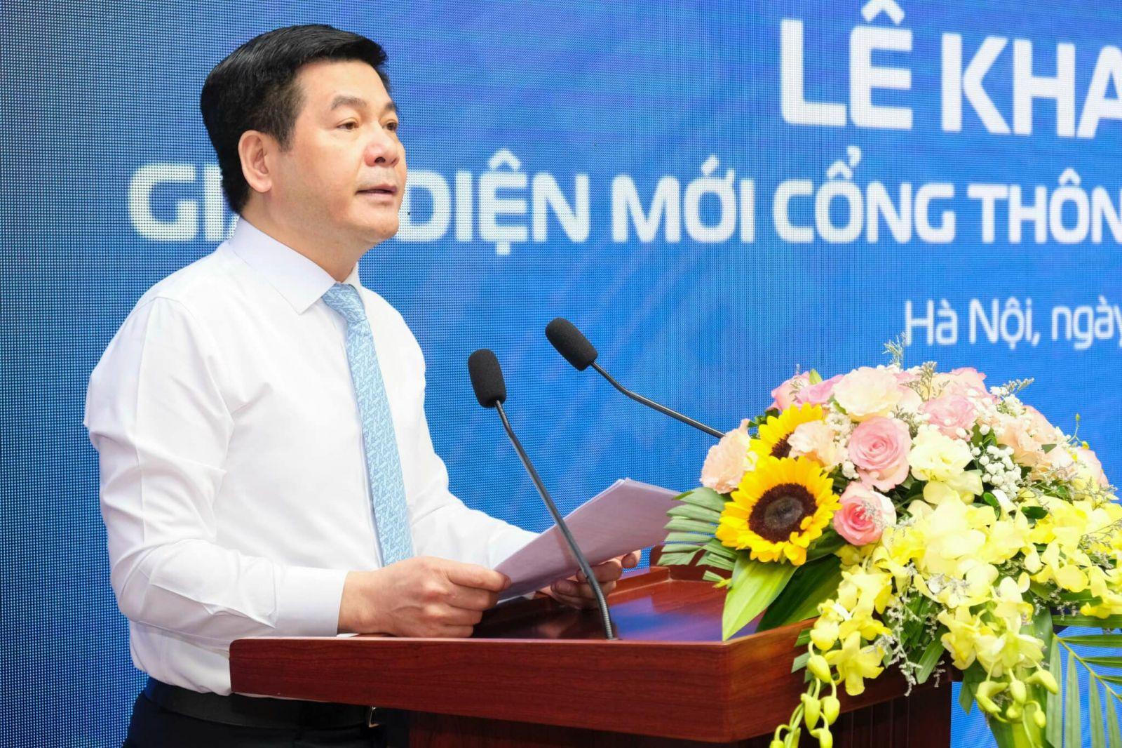 Bộ trưởng Nguyễn Hồng Diên phát biểu