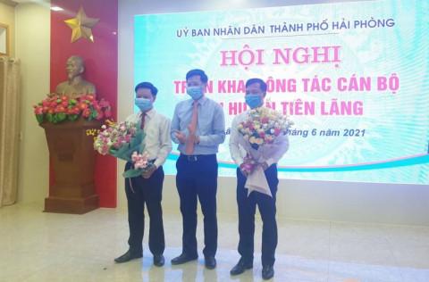 Hải Phòng: Triển khai công tác cán bộ tại huyện Tiên Lãng