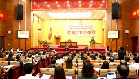 Phú Thọ: Khai mạc trọng thể kỳ họp thứ nhất HĐND tỉnh khóa XIX