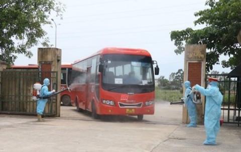 Thanh Hoá: Tiếp nhận công nhân trở về từ vùng dịch Bắc Giang