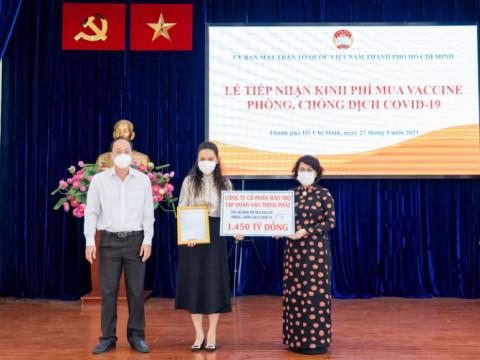 Tập đoàn Vạn Thịnh Phát ủng hộ 2.000 tỷ đồng phòng chống dịch Covid-19
