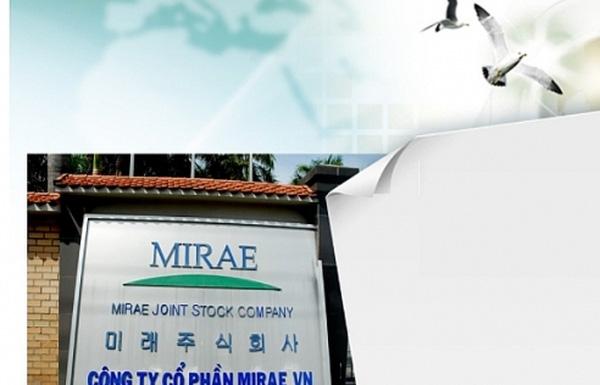 Cổ phiếu KMR của Công ty CP Mirae tăng trưởng đột biến