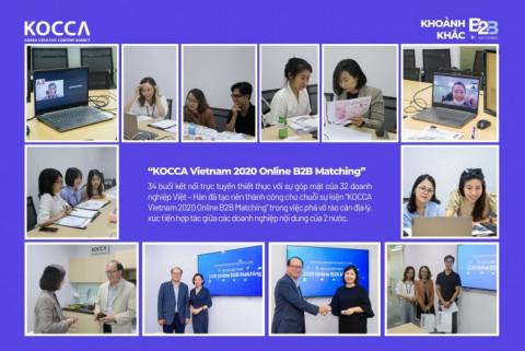 Chuỗi sự kiện B2B Matching 2021 - Cơ hội mới cho các doanh nghiệp nội dung sáng tạo Việt Nam