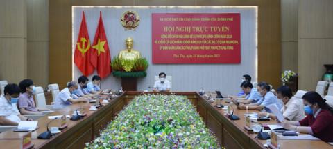 Xếp hạng Chỉ số cải cách hành chính năm 2020: Phú Thọ đứng thứ 10/63 tỉnh, thành phố; đứng đầu khu vực Trung du- miền núi phía Bắc