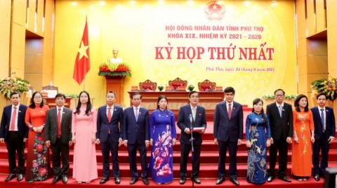 Kỳ họp thứ Nhất - HĐND tỉnh Phú Thọ khóa XIX, nhiệm kỳ 2021 - 2026: Ông Bùi Minh Châu tái đắc cử chức Chủ tịch HĐND tỉnh