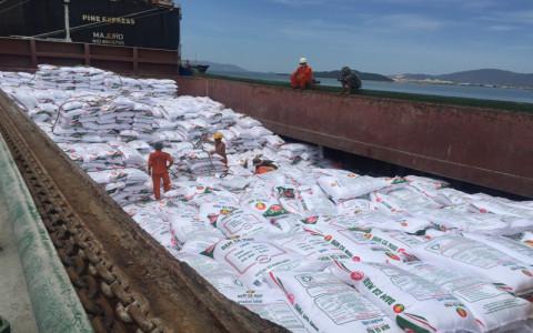Tới giữa tháng 6, xuất khẩu phân bón đạt khối lượng và kim ngạch cao nhất trong 8 năm