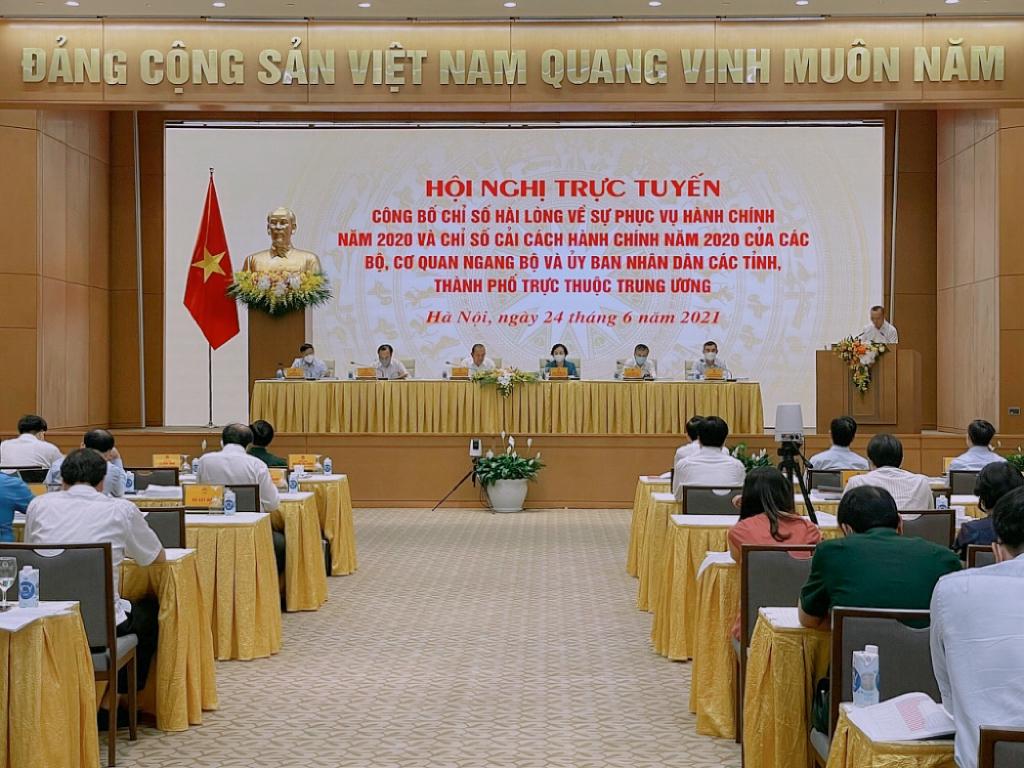Tại hội nghị trực tuyến công bố chỉ số hài lòng về sự phục vụ hành chính của năm 2020 và chỉ số cải cách hành chính năm 2020 của các Bộ, cơ quan ngang Bộ và UBND các tỉnh thành phố trực thuộc Trung ương (Chỉ số PAR INDEX) cho kết quả Quảng Ninh và Hải Phòng trong top đứng đầu...