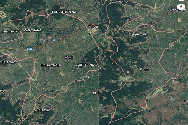 Cụm công nghiệp Vạn Thắng – Yên Thọ sẽ có diện tích khoảng 49,87 ha