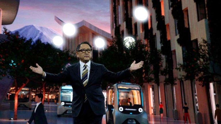 Chủ tịch Toyota đầu tư 45 triệu USD vào nguyên mẫu cho thành phố tương lai