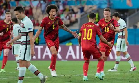 Bỉ đã biến Bồ Đào Nha thành cựu vô địch Euro