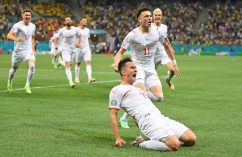 Euro 2020: Đội Thụy Sỹ loại Pháp bằng loạt sút luân lưu