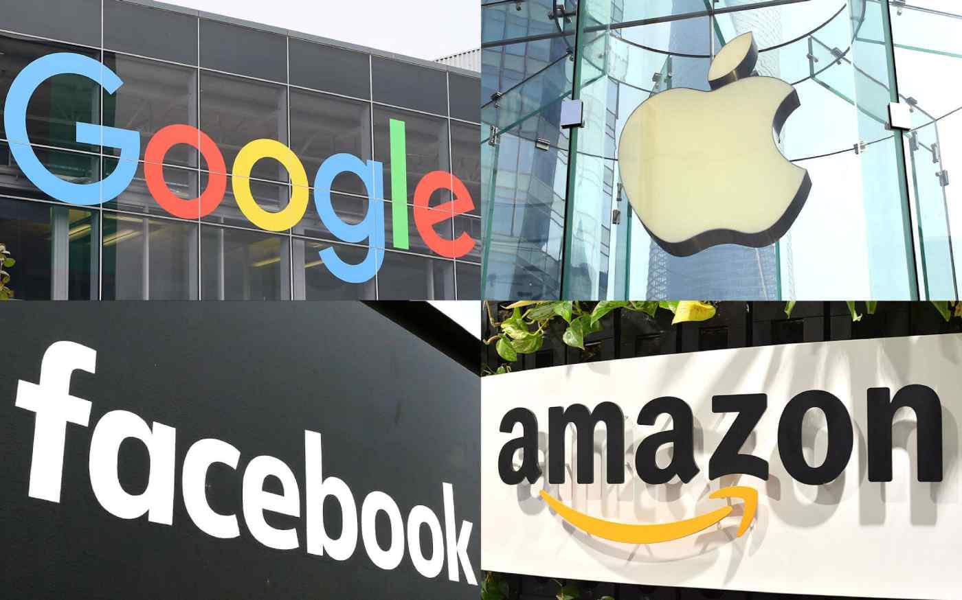 Nhiều quốc gia trên thế giới đang đẩy mạnh nỗ lực đánh thuế Big Tech, bao gồm Google, Apple, Facebook và Amazon.com. (Ảnh của Shinya Sawai, Kosaku Mimura và Wataru Ito)