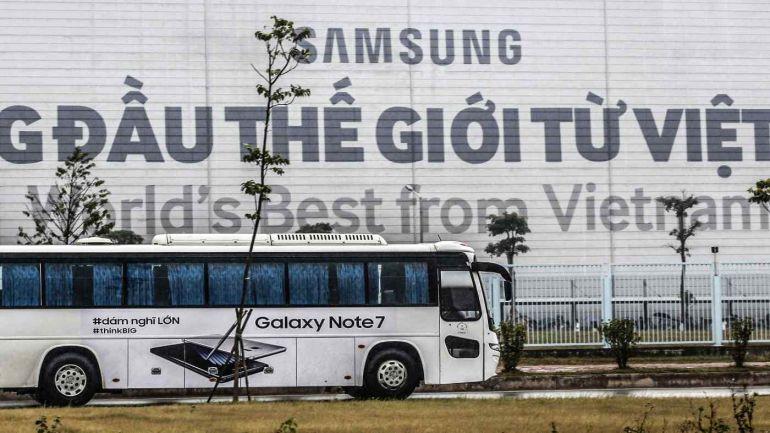 Samsung kêu gọi sử dụng 100% năng lượng xanh ở Hàn Quốc và Việt Nam