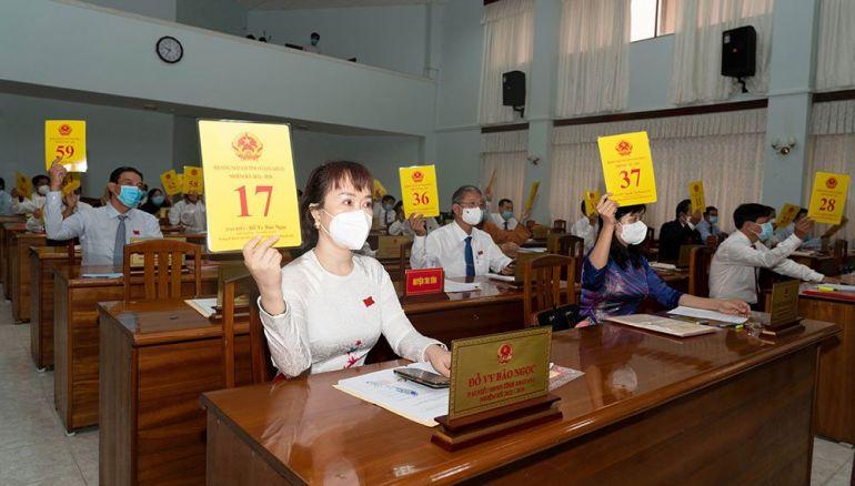An Giang tổ chức kì họp HĐND tỉnh khóa X