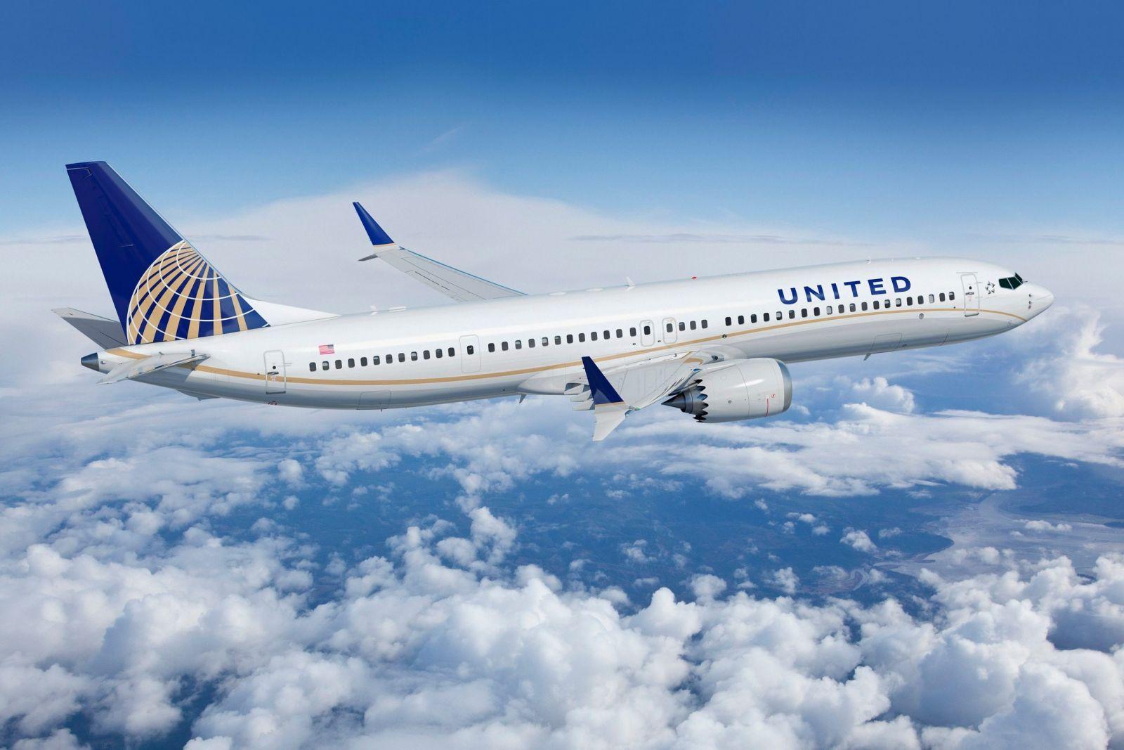 United Airlines đặt hàng 270 máy bay phản lực