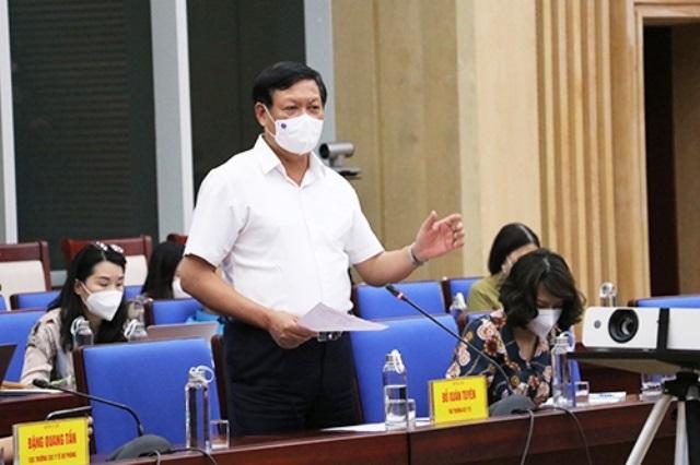 Nghệ An chỉ đạo triển khai kết luận của Thứ trưởng Bộ Y tế về công tác phòng chống dịch Covid-19 trên địa bàn tỉnh