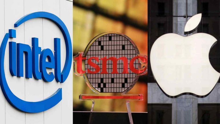 Apple và Intel trở thành khách hàng đầu tiên áp dụng công nghệ chip mới nhất của TSMC