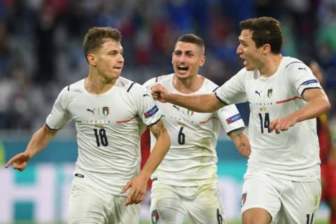 EURO 2020: Đánh bại Bỉ, Italy vào bán kết gặp Tây Ban Nha