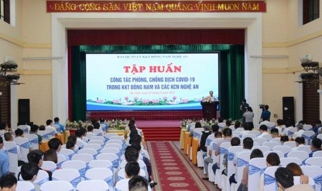 Nghệ An chỉ đạo tham mưu để hoạch định chính sách kinh tế phù hợp hỗ trợ doanh nghiệp, người lao động vượt qua đại dịch