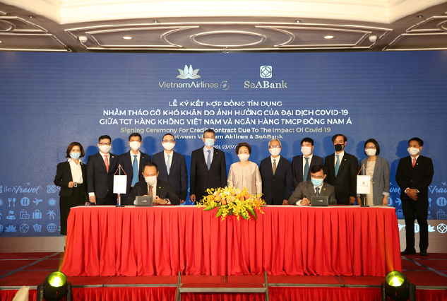 SeABank sẽ giải ngân 2.000 tỷ đồng cho Vietnam Airlines vượt qua khó khăn đại dịch