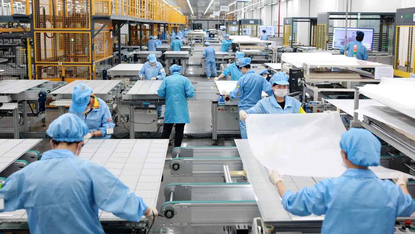 Công ty năng lượng mặt trời Risen Energy đã đồng ý đầu tư 10 tỷ USD vào ngành công nghiệp tấm pin mặt trời của Malaysia. © Reuters